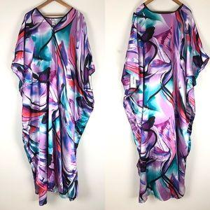 Vintage Deadstock Winlar one-size Kaftan robe 0847